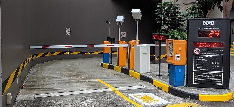 SOTA Motorcycle Parking
