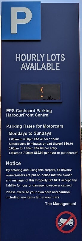 harbourfront centre motorcycle parking